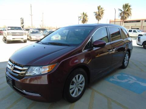 2016 Honda Odyssey for sale at Premier Foreign Domestic Cars in Houston TX