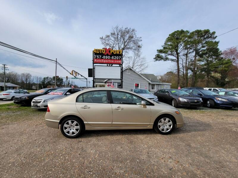 2008 Honda Civic for sale at Autoxport in Newport News VA