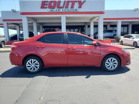2018 Toyota Corolla for sale at EQUITY AUTO CENTER in Phoenix AZ