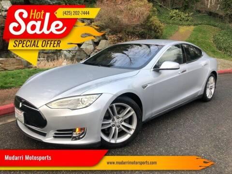 2016 Tesla Model S for sale at Mudarri Motorsports in Kirkland WA