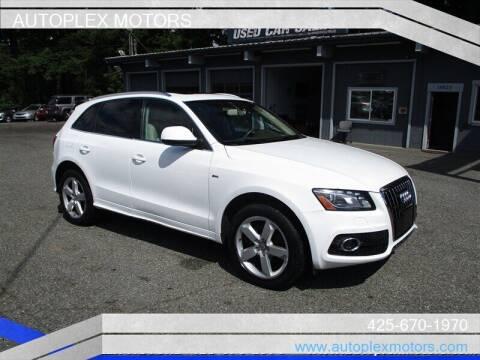 2012 Audi Q5 for sale at Autoplex Motors in Lynnwood WA