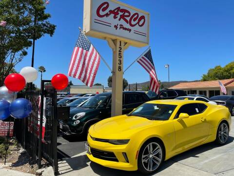 2017 Chevrolet Camaro for sale at CARCO SALES & FINANCE - CARCO OF POWAY in Poway CA