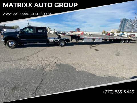 2018 Ford F-350 Super Duty for sale at MATRIXX AUTO GROUP in Union City GA
