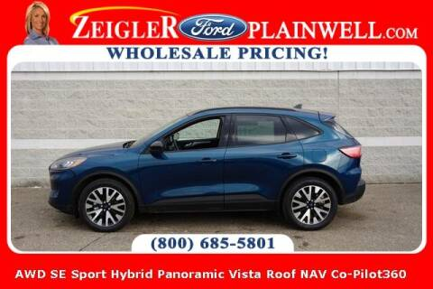 2020 Ford Escape Hybrid for sale at Zeigler Ford of Plainwell- Jeff Bishop in Plainwell MI
