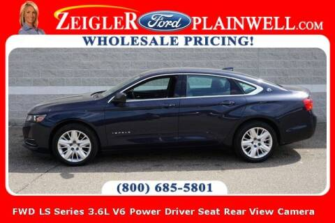 2018 Chevrolet Impala for sale at Zeigler Ford of Plainwell- Jeff Bishop in Plainwell MI