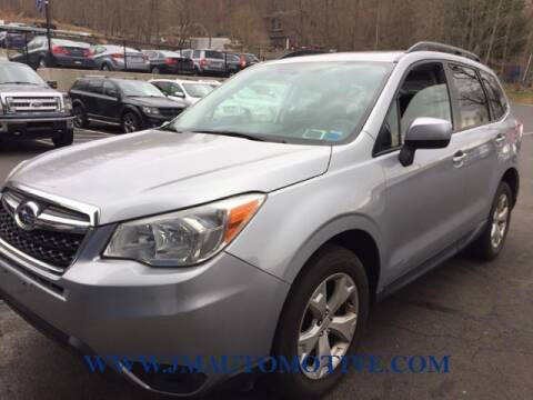 2015 Subaru Forester for sale at J & M Automotive in Naugatuck CT