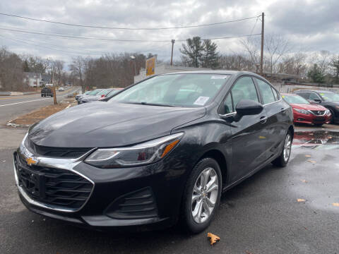 2019 Chevrolet Cruze for sale at Royal Crest Motors in Haverhill MA