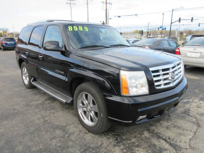 2006 Cadillac Escalade for sale at Fox River Motors, Inc in Green Bay WI
