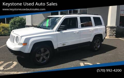2013 Jeep Patriot for sale at Keystone Used Auto Sales in Brodheadsville PA