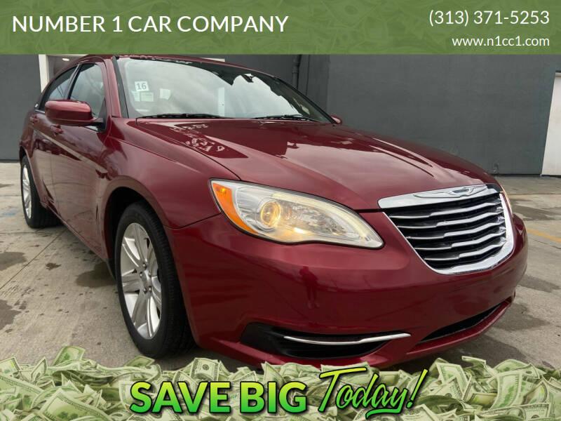 2012 Chrysler 200 for sale at NUMBER 1 CAR COMPANY in Detroit MI