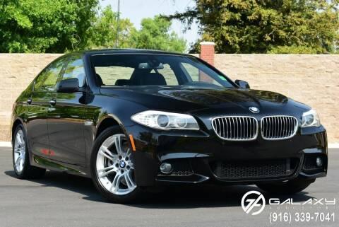 2012 BMW 5 Series for sale at Galaxy Autosport in Sacramento CA