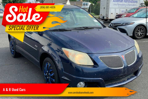 2005 Pontiac Vibe for sale at A & R Used Cars in Clayton NJ