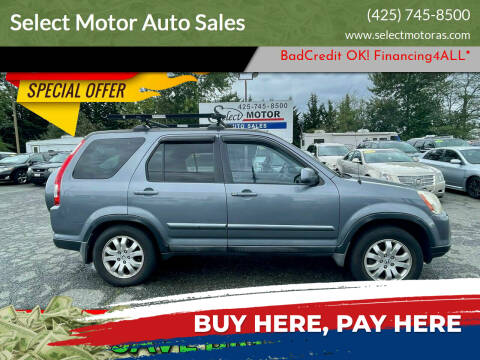 2006 Honda CR-V for sale at Select Motor Auto Sales in Lynnwood WA
