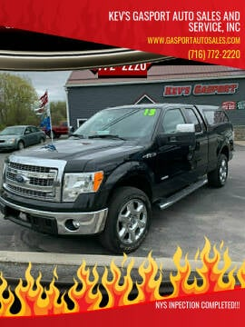 2013 Ford F-150 for sale at KEV'S GASPORT AUTO SALES AND SERVICE, INC in Gasport NY