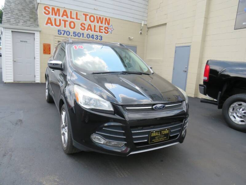 2014 Ford Escape for sale at Small Town Auto Sales in Hazleton PA