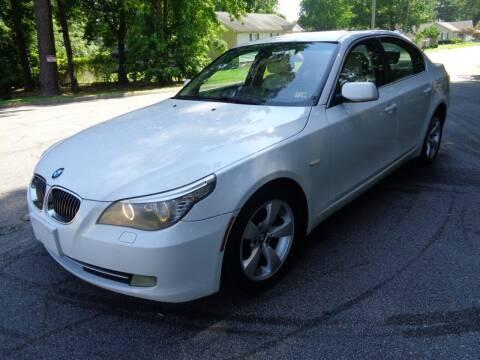2008 BMW 5 Series for sale at Liberty Motors in Chesapeake VA