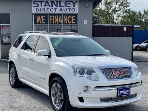 2012 GMC Acadia for sale at Stanley Automotive Finance Enterprise - STANLEY DIRECT AUTO in Mesquite TX