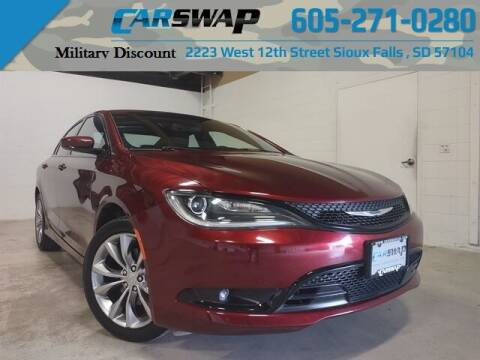 2015 Chrysler 200 for sale at CarSwap in Sioux Falls SD