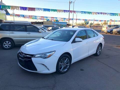 2017 Toyota Camry for sale at Valley Auto Center in Phoenix AZ