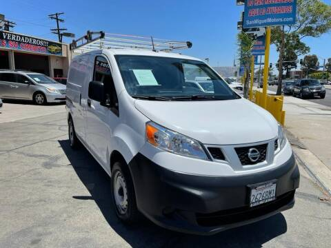 2013 Nissan NV200 for sale at Sanmiguel Motors in South Gate CA