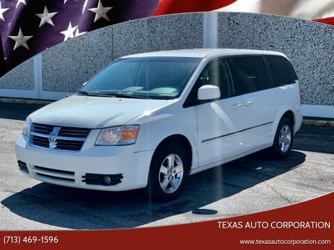 2008 Dodge Grand Caravan for sale at Texas Auto Corporation in Houston TX