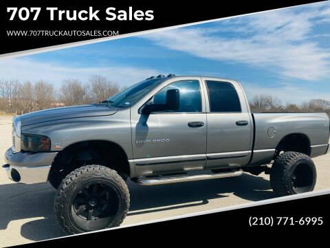 2005 Dodge Ram Pickup 2500 for sale at 707 Truck Sales in San Antonio TX