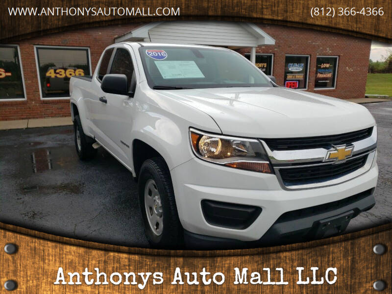 2016 Chevrolet Colorado for sale at Anthonys Auto Mall LLC in New Salisbury IN