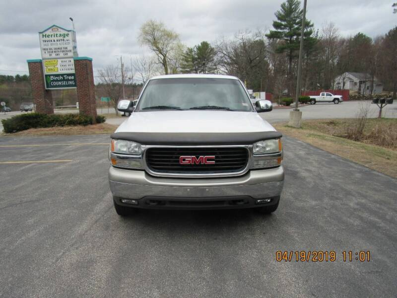 2002 GMC Sierra 2500 for sale at Heritage Truck and Auto Inc. in Londonderry NH