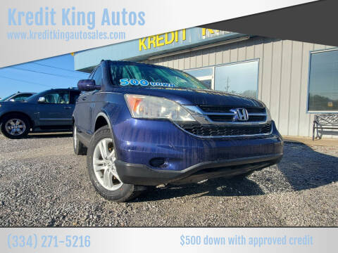 2010 Honda CR-V for sale at Kredit King Autos in Montgomery AL