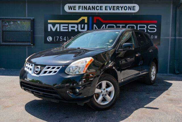 2013 Nissan Rogue for sale at Meru Motors in Hollywood FL