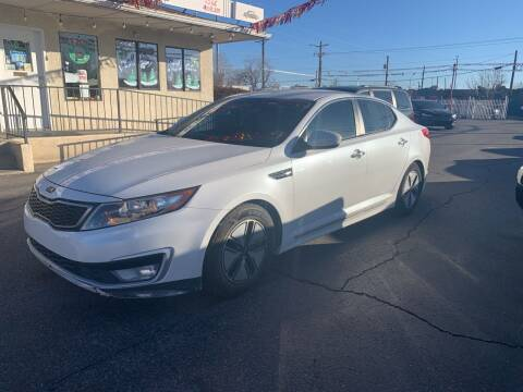 2012 Kia Optima Hybrid for sale at Robert B Gibson Auto Sales INC in Albuquerque NM