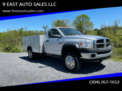2008 Dodge Ram Chassis 4500 for sale at 9 EAST AUTO SALES LLC in Martinsburg WV