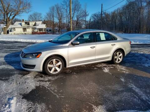 2013 Volkswagen Passat for sale at Depue Auto Sales Inc in Paw Paw MI