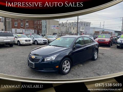 2014 Chevrolet Cruze for sale at Impressive Auto Sales in Philadelphia PA