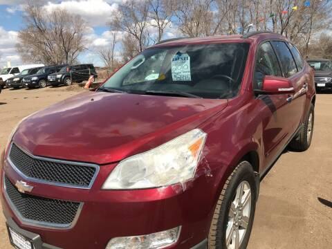 2010 Chevrolet Traverse for sale at BARNES AUTO SALES in Mandan ND