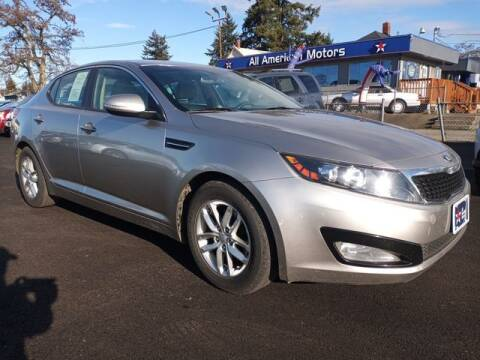 2013 Kia Optima for sale at All American Motors in Tacoma WA