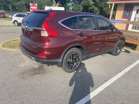 2016 Honda CR-V for sale at Nash's Auto Sales Used Car Dealer in Milton FL
