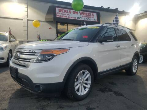 2015 Ford Explorer for sale at Deals On Wheels Auto Group in Irvington NJ