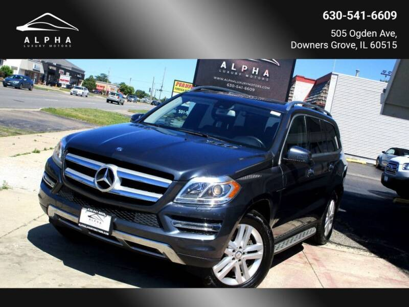 2016 Mercedes-Benz GL-Class for sale at Alpha Luxury Motors in Downers Grove IL