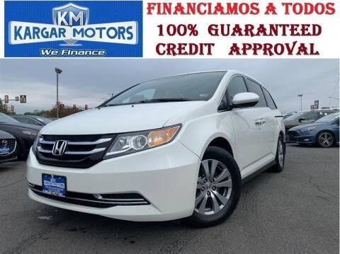 2017 Honda Odyssey for sale at Kargar Motors of Manassas in Manassas VA