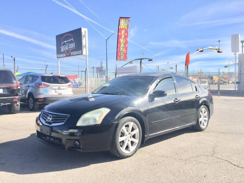 2008 Nissan Maxima for sale at Moving Rides in El Paso TX