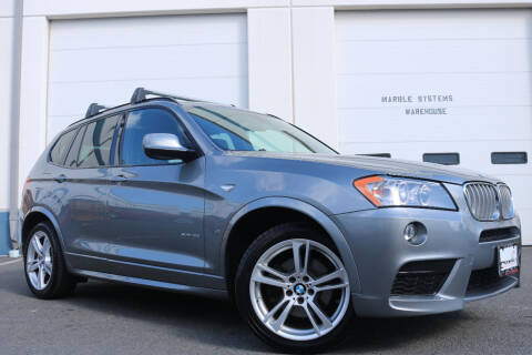 2013 BMW X3 for sale at Chantilly Auto Sales in Chantilly VA