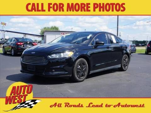 2016 Ford Fusion for sale at Autowest of Plainwell in Plainwell MI