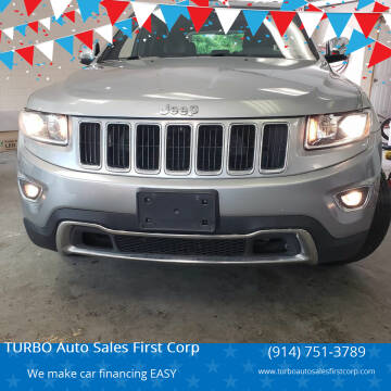 2015 Jeep Grand Cherokee for sale at TURBO Auto Sales First Corp in Yonkers NY