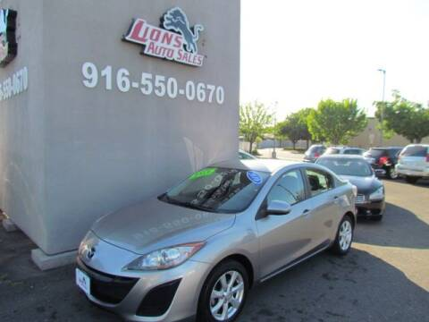 2010 Mazda MAZDA3 for sale at LIONS AUTO SALES in Sacramento CA