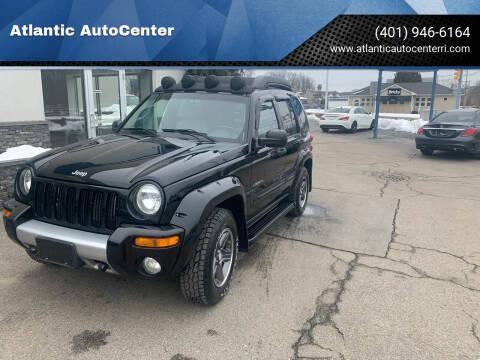2004 Jeep Liberty for sale at Atlantic AutoCenter in Cranston RI