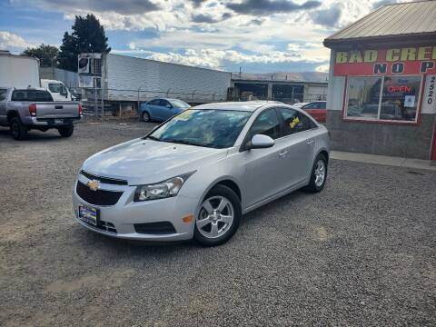 2014 Chevrolet Cruze for sale at Yaktown Motors in Union Gap WA