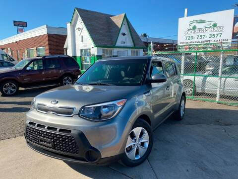 2016 Kia Soul for sale at GO GREEN MOTORS in Denver CO