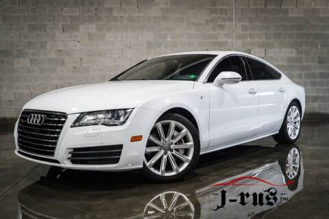2013 Audi A7 for sale at J-Rus Inc. in Macomb MI