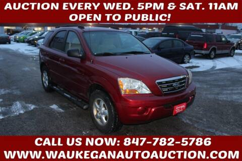 2008 Kia Sorento for sale at Waukegan Auto Auction in Waukegan IL
